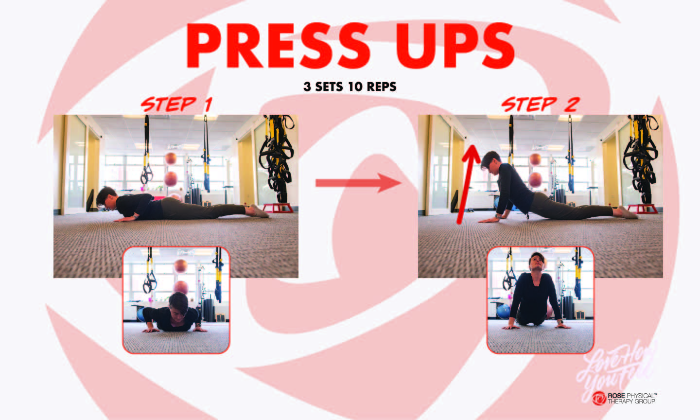 press up physical therapy mckenzie washington dc