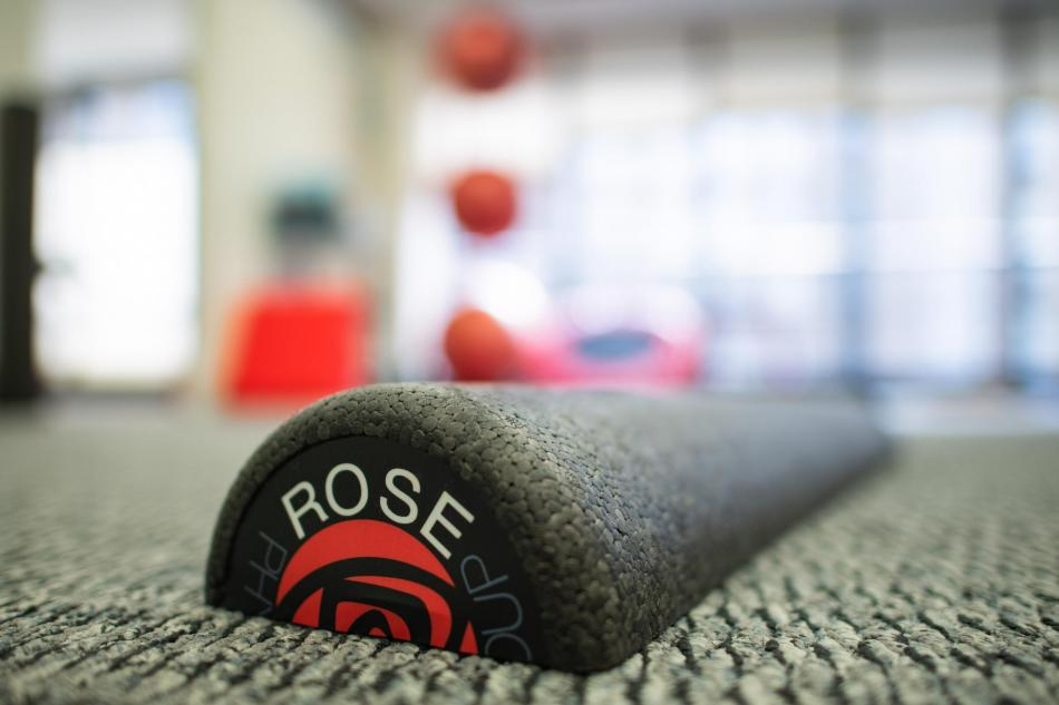 half foam roller extra firm rose physical therapy