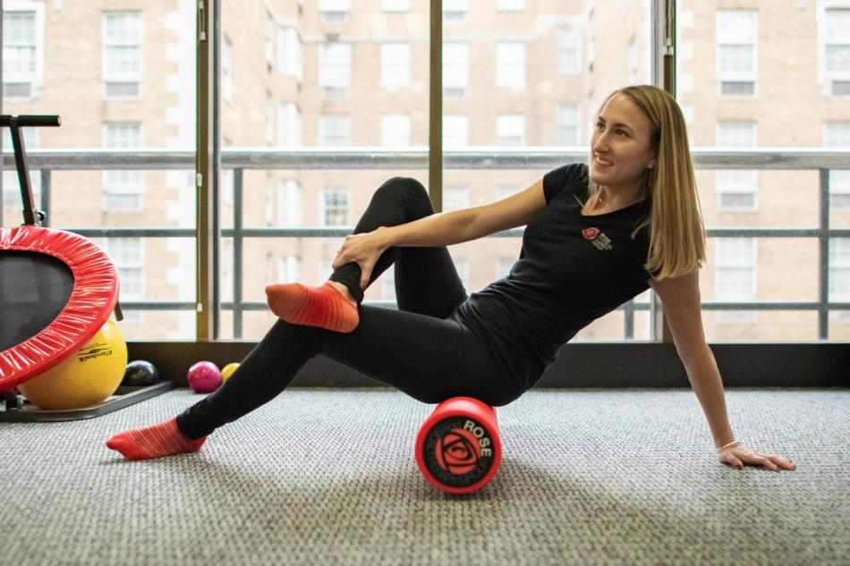 basic foam roller for physical therapy