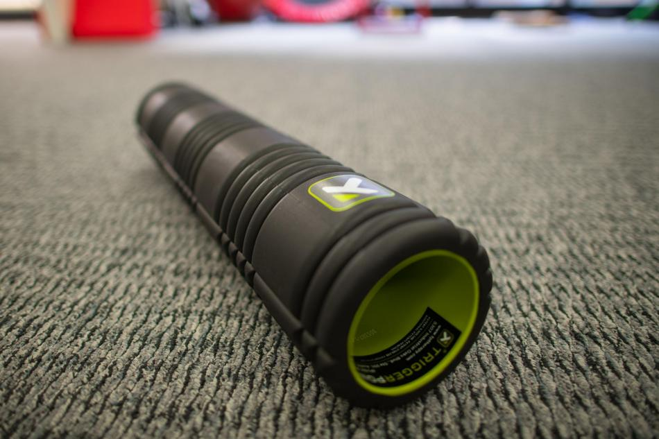 trigger point GRID foam roller physical therapy