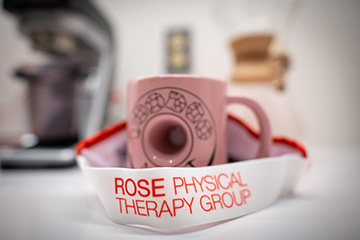 rose physical therapy visor - coffee - washington dc - back