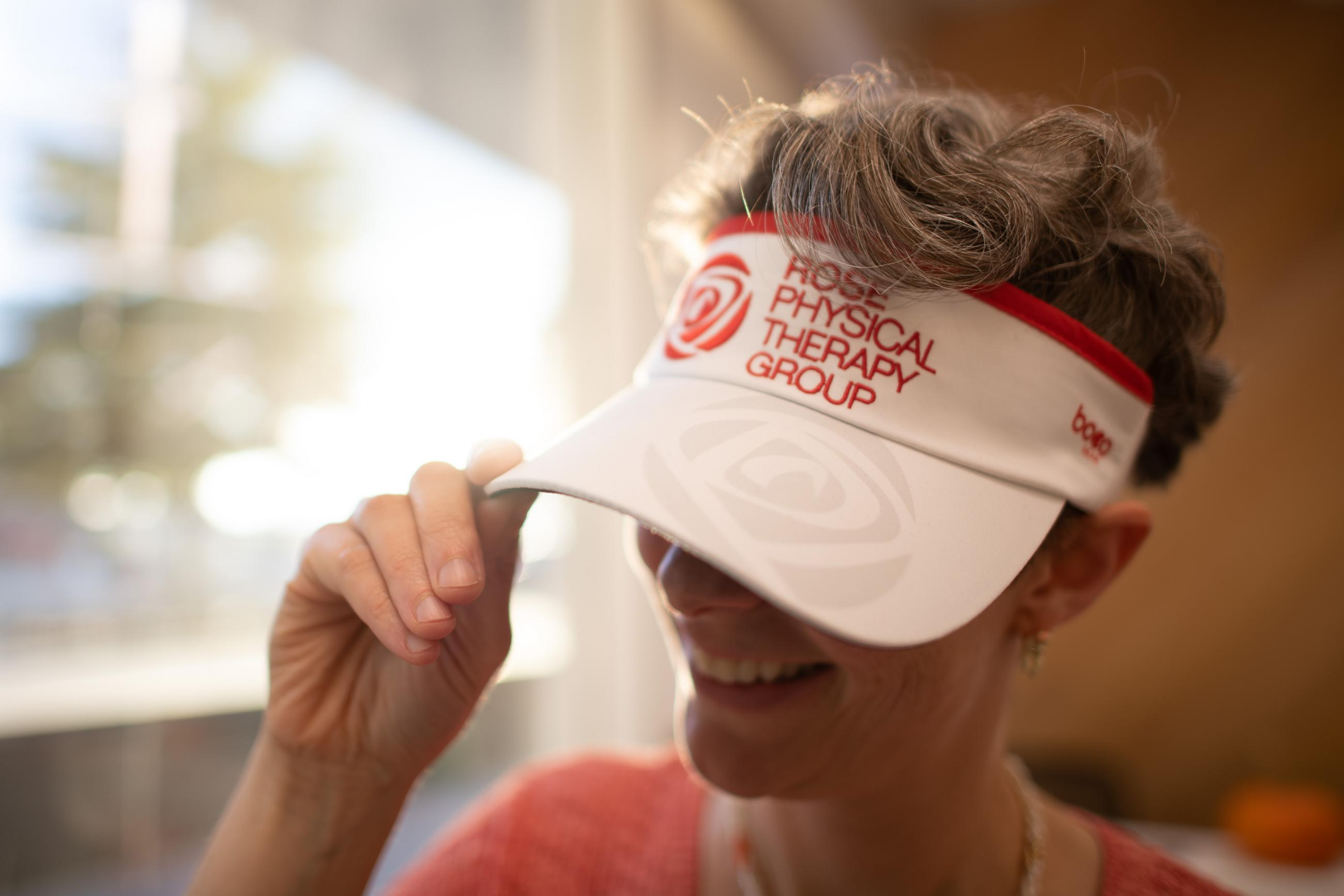 rose physical therapy visor